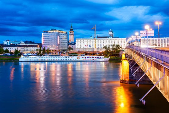 The city of Linz is at the epicentre of driverless-car technology. Picture: Shutterstock