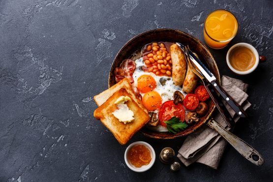 In just four cities, a standard breakfast made up less than 1% of daily income: Geneva, Dubai, Luxembourg and Bern, Switzerland. Picture: Shutterstock