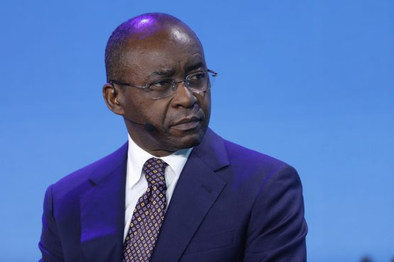 Strive Masiyiwa says if every business in Zimbabwe quoted goods and services in rand for their customers, 'it would go some way to eliminating the dollar arbitrage.' Picture: Justin Chin, Bloomberg