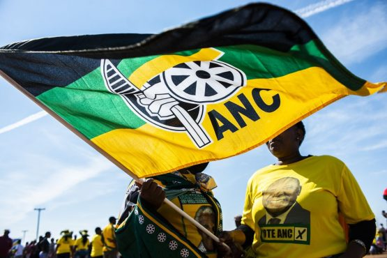 Ruling ANC takes early lead in South Africa election