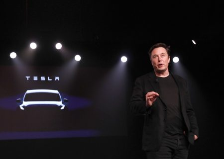 The Tesla stock bubble burst, triggering existential questions