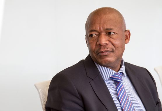 Dodgy dealing. A senior market risk analyst at the PIC says Iqbal Survé attempted to bring an impaired investment to the state-owned asset manager, and corroborated what others have said about then CEO Dan Matjila (pictured) signing off on the deal. Photographer: Dean Hutton/Bloomberg