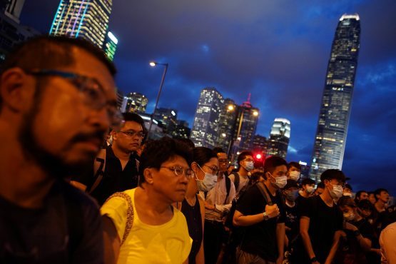 Changes to rule of law seen as threat to role of financial hub. Picture: Reuters