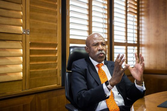 Sarb governor, Lesetja Kganyago. Losing its sole investment-grade assessment would push South Africa out of debt indexes including the FTSE World Government Bond Index. Picture: Waldo Swiegers, Bloomberg