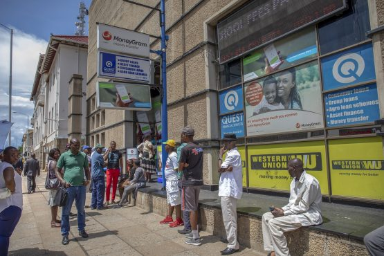 Paynet suspended its services to banks in June, citing unpaid bills, forcing Zimbabwean lenders to shift to smaller providers or manage payments manually. Picture: Cynthia R Matonhodze, Bloomberg