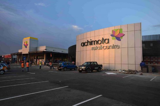 'Deals take time', but it looks like Growthpoint Investec African Properties is about to acquire two of the five properties in the AttAfrica portfolio, which includes the Achimota Retail Centre in Accra, Ghana. Image: Supplied