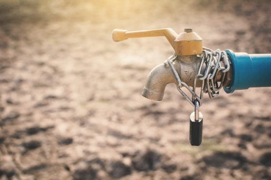 An early warning tool that tracks water supplies worldwide and mixes in social, economic and demographic data to flag up potential crises is being developed by the Netherlands-based Water, Peace and Security partnership. Picture: Shutterstock