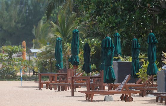 Tourist arrivals in Sri Lanka slumped by 70% in May from a year earlier, following the April bombings, as a result many small businesses are being forced to either lay off staff or have them work for minimal pay. Picture: Dinuka Liyanawatte, Reuters
