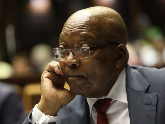 Former South African President Jacob Zuma is being charged for corruption after prosecutors allege he took R4.07m in bribes from arms dealers. Image: Jackie Clausen, AFP/Getty Images