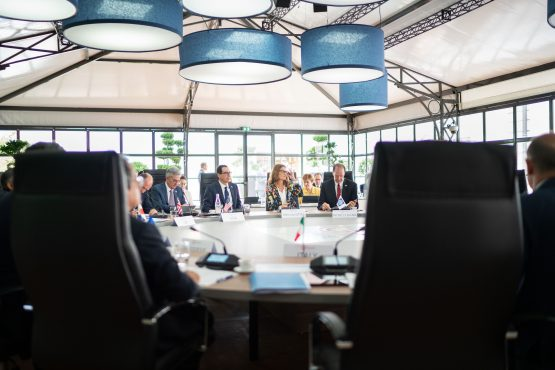 Group of Seven G-7 finance ministers and central bank governors meet in France. Picture: Jasper Juinen, Bloomberg