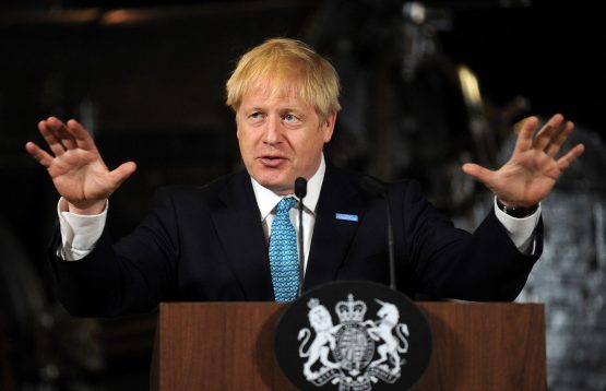 During a trip to Scotland, Boris Johnson insisted he still believed a deal was achievable. Picture: Getty