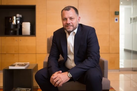 CEO Morné Wilken believes the Hyprop team is on track to getting the company back to where it needs to be. Picture: Supplied