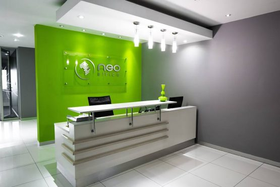 Neo Africa's offices in Sandton. The company's sole shareholder didn't see anything strange or suspicious about keeping R9.9m in a company bank account for an employee of SA Express. Picture: Facebook