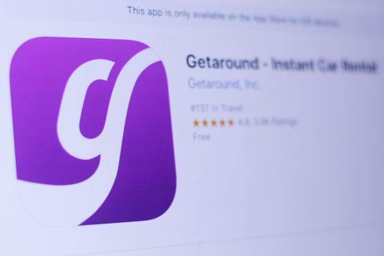 Getaround is a California-based online car sharing service, which enables drivers to rent cars from private owners. Picture: Shutterstock