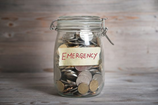 It's advisable to keep the equivalent of three months' salary in your emergency fund. Picture: Shutterstock