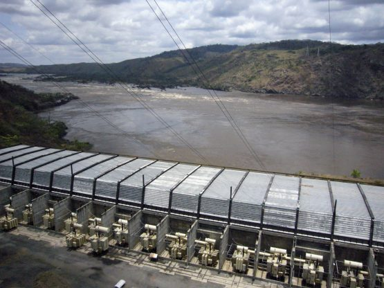 Grand Inga could single-handedly generate more than 40 000 megawatts of power upon completion. Picture: Marlene Rabaud, Reuters