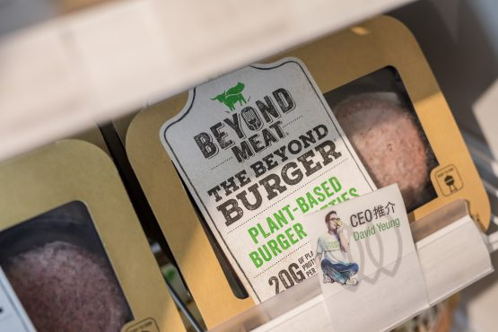 Nestle is entering the vegetarian food market to rival Beyond Meat which has already taken the market by storm. Picture: Paul Yeung, Bloomberg