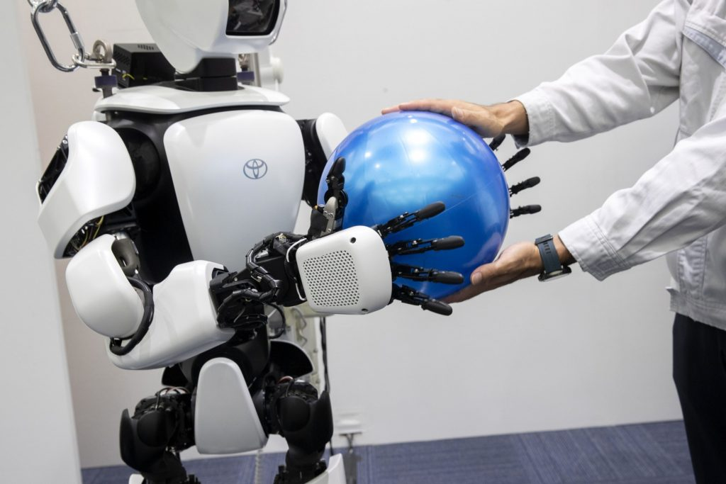Finance needs people who work well with robots