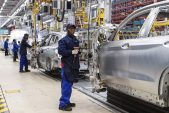 South Africa factory sentiment jumps to record high on demand