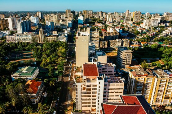 Residential and commercial buildings stand on the city skyline in Maputo, Mozambique. Picture: Waldo Swiegers/Bloomberg