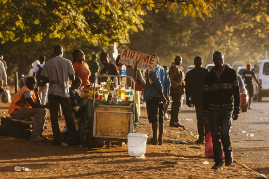Many Zimbabweans are angry that top government officials continue to travel abroad for treatment while state hospitals are turning away patients because of the doctors' strike. Image: Waldo Swiegers/Bloomberg