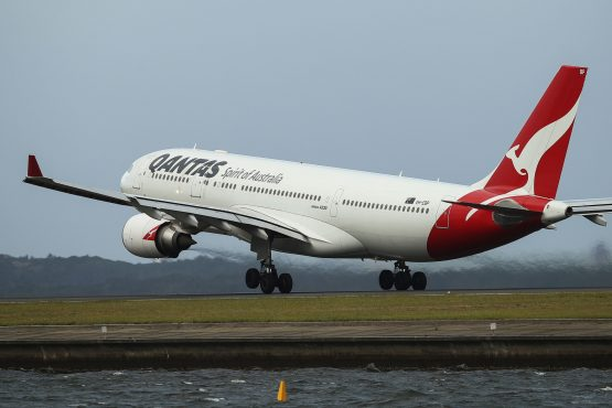 Qantas still hasn't decided on a Boeing or Airbus plane that can fly the route fully laden and without a break. Picture: Bloomberg