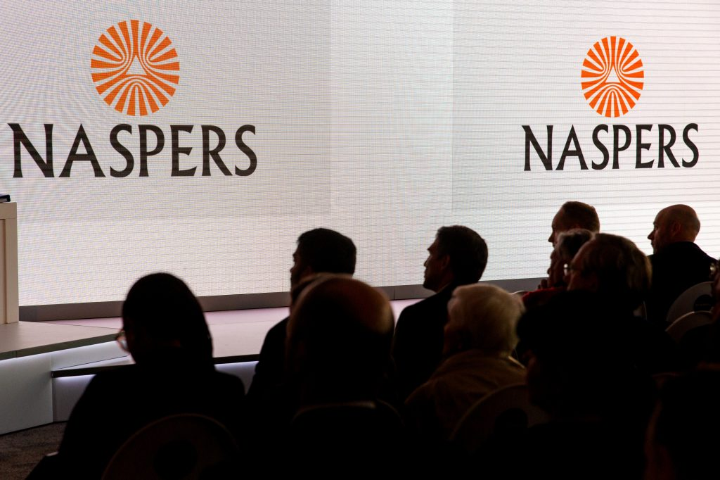 Naspers looking at easing dominance on JSE