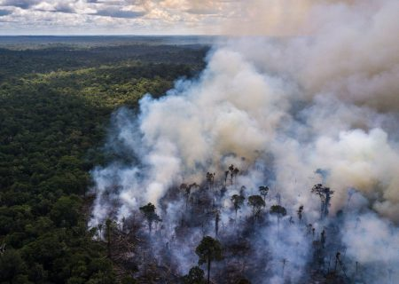 Brazil's Bolsonaro says NGOs may be setting fire to Amazon forest