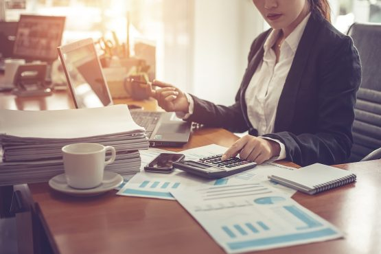 Working out a monthly budget to save more and spend less can help you avoid run-ins with the debt collector come the end of the month. Picture: Shutterstock