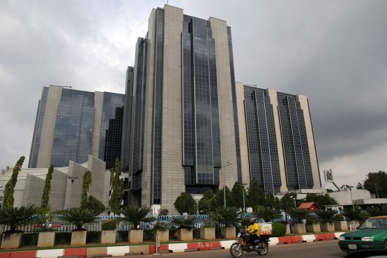 The headquarters of the Nigerian central bank in Abuja. Image: George Osodi, Bloomberg