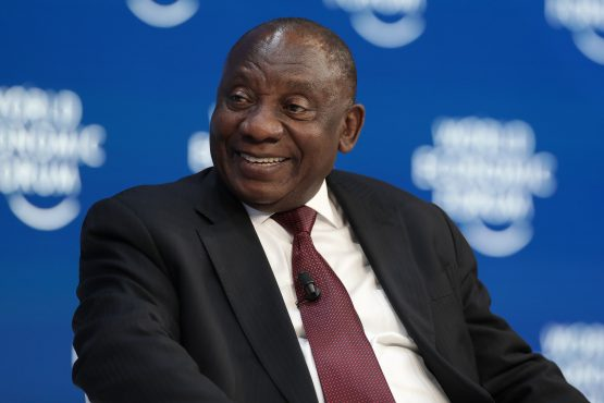President Cyril Ramaphosa faces renewed calls to accelerate the pace of economic reform and in-fighting within the ANC. Image: Jason Alden, Bloomberg