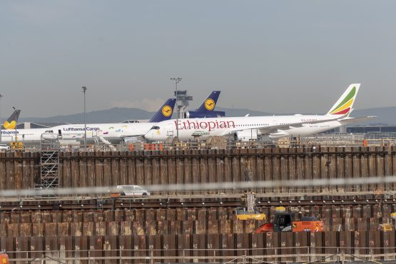 Ethiopian Airlines reports a rise in profits for the year ended June 2019, despite a plane crash earlier in the year. Image: Alex Kraus, Bloomberg