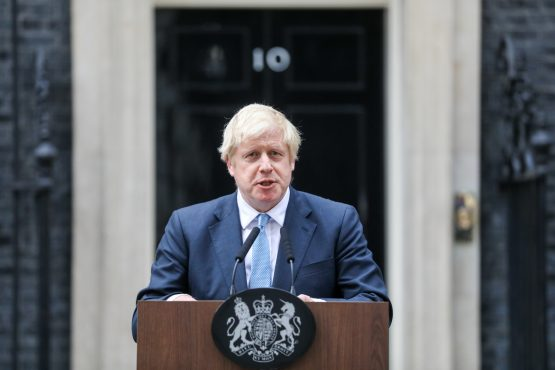 Boris Johnson, UK prime minister. Image: Chris Ratcliffe, Bloomberg
