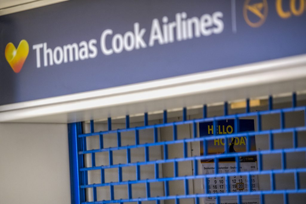 'Absolutely gutted' – demise of Thomas Cook wrecks travellers' plans