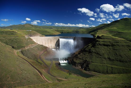 The Katse Dam forms part of the Lesotho Highlands Water Project. Picture: Shutterstock