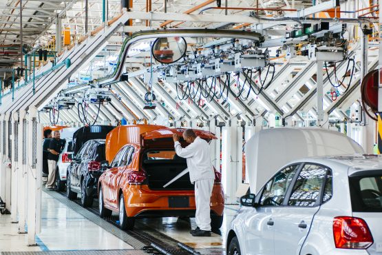 If local production costs aren't favourable, the next orders could be 'allocated to Spain', says VWSA's Thomas Schaefer. Image: Waldo Swiegers, Bloomberg