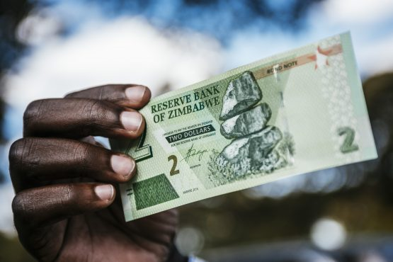 All this and more while Zimbabwe's lenders lost 95% of their money overnight. Image: Waldo Swiegers, Bloomberg