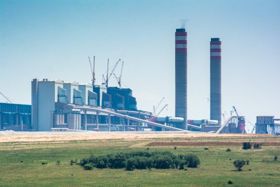 The Kusile coal-fired power station in Mpumalanga. Image: Waldo Swiegers/Bloomberg