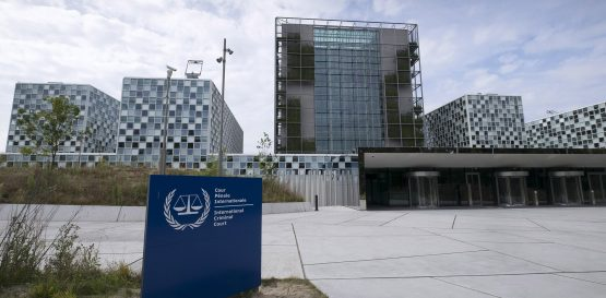 Exterior View of new International Criminal Court building in The Hague. Image: Michel Porro/Getty Images