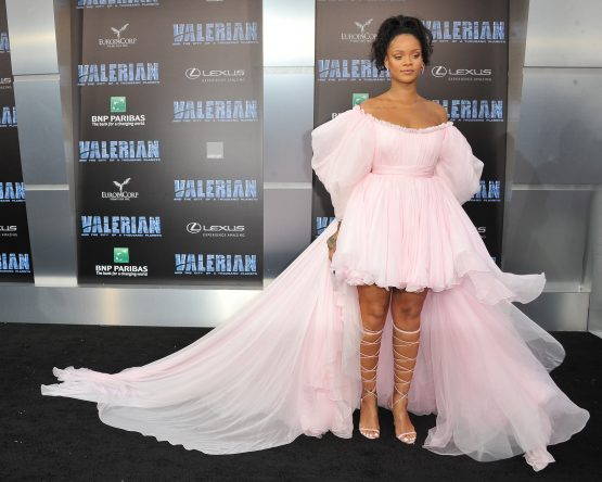 Singer, fashion designer, actress, and businesswoman Rihanna's legs are reportedly insured for $1 million. Image: Shutterstock