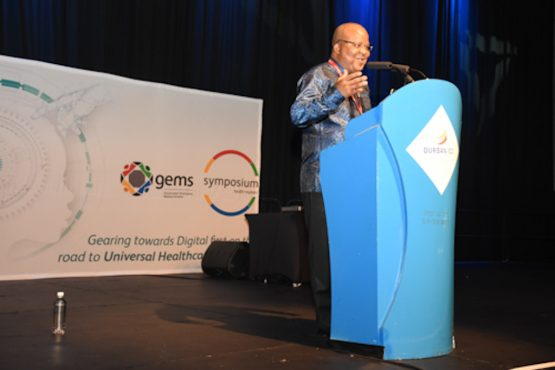 Chief operations officer of Gems Dr Stan Moloabi. Image: Supplied