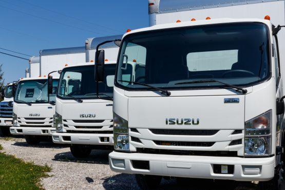 Trucks are standing idle and some employees spent the weekend behind bars. Image: Shutterstock