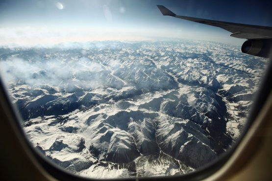 Private jets at Davos have become alightning rodfor the flight-shaming movement, with the global elite criticized for spewing unnecessary emissions by avoiding commercial flights. Image: Oli Scarff, Getty Images