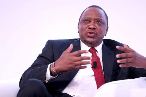 Kenyan President Uhuru Kenyatta. Image: Paul Miller, Bloomberg