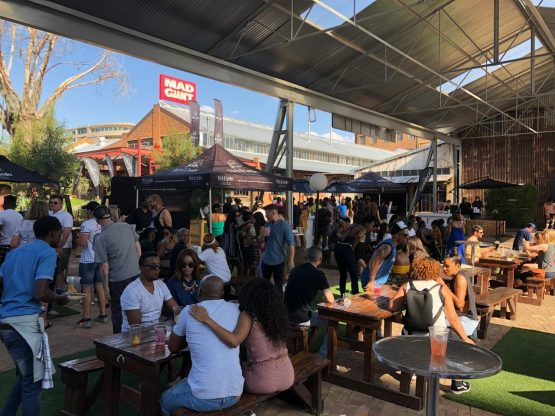Gin lovers at Mad Giant in Johannesburg. Image: Supplied
