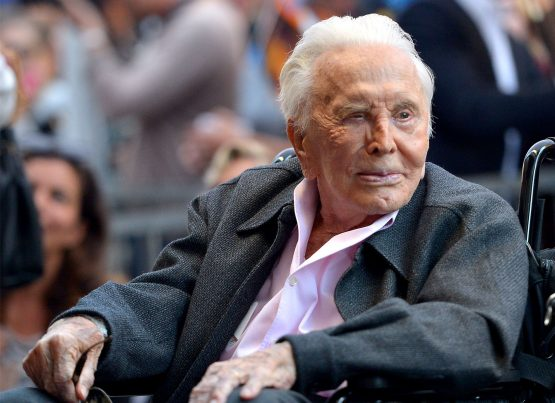 Kirk Douglas attends the Hollywood Walk of Fame Ceremony Honouring Michael Douglas on Hollywood Boulevard on November 6, 2018 in Hollywood, California. Picture: Charley Gallay/Getty Images for Netflix