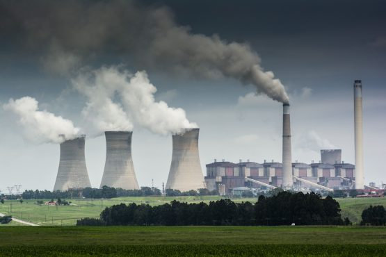 Mpumalanga, where numerous of Eskom's coal burning power stations are based, is one of the most polluted areas in the world. Matla Power Station. Image: Waldo Swiegers, Bloomberg