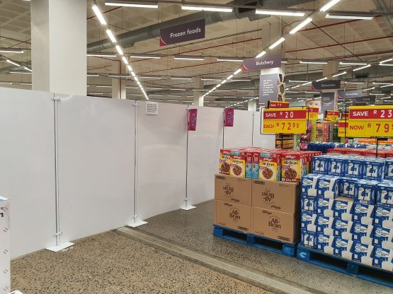 Changes are underway at the Mall of Africa store. Image: Suren Naidoo, Moneyweb