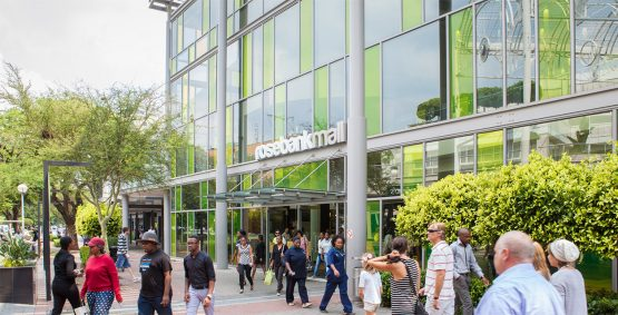 Rosebank Mall, which is owned by JSE-listed retail landlord Hyprop. The group has seen a R1.1 billion devaluation in its South Africa portfolio, according to its latest results for the half-year to December 2019. Image: Supplied