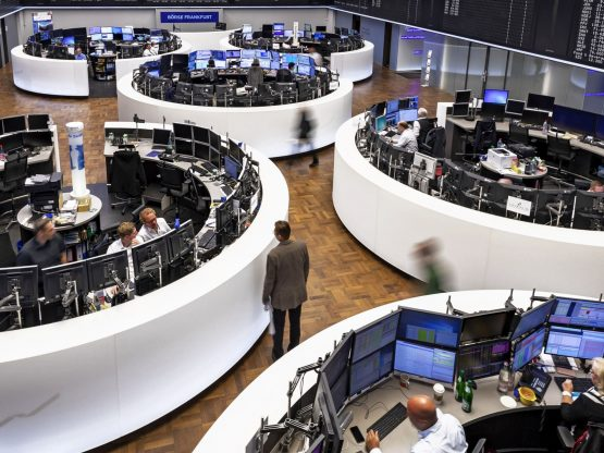 European Shares Nudge Higher Despite Investor Disappointment in ECB Rate Decision